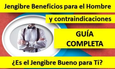 Jengibre beneficios para el hombre [Guía Completa]. Beneficios y Contraindicaciones del Jengibre