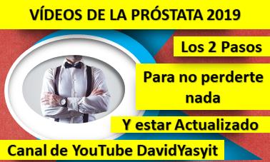 Vídeos de la Próstata Inflamada 2019: Cómo estar actualizado y no perderte nada sobre la próstata